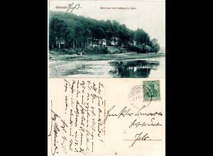 DR 1913, Nord Schleswig Posthilfstellen Stpl. SÜDERHAFF auf AK m. 5 Pf. Germania