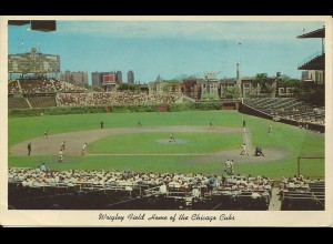 USA, Baseball, Chicago Wrigley Field, gebr. Farb AK. #3067