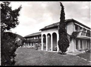 Schweiz, Golf Villa Magliaso Lugano, gebr. sw-AK