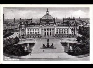 Berlin, altes Reichstagsgebäude, 1936 gebr. sw-AK