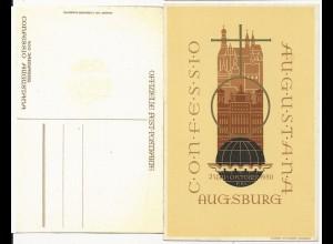Augsburg, 400 Jahrfeier Confessio Augustana, ungebr. Ereignis AK. #1870