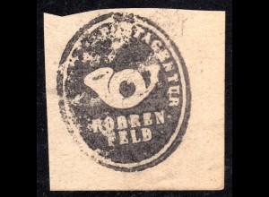 Bayern, ROHRENFELD, Postamts Siegel-Stempel auf Briefstück