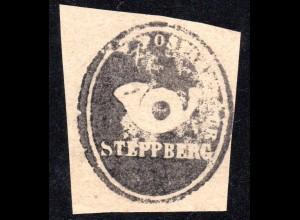 Bayern, STEPPBERG, Postamts Siegel-Stempel auf Briefstück