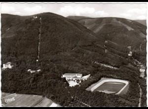 Edenkoben, Sesselbahn m. Sportschule, 1967 gebr. sw-AK