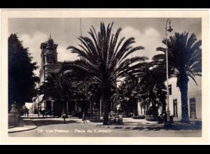 Spanien, Las Palmas, 1932 v. Puerto de La Luz n. Norwegen gebr. sw-AK