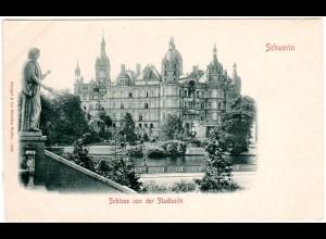 Schwerin Schloss, ungebr. sw -AK