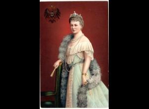 Kaiserin Augusta Victoria, ungebr. Farb-AK