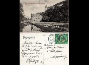 Freising, Arbeiterheimat St. Joseph, 1911 gebr. sw-AK m. 5 Pf. Jubiläum. FDC!
