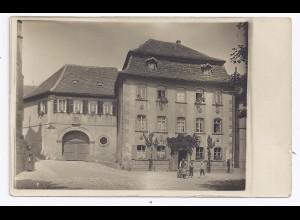 Wimpfen, ungebr. Foto AK m. Gebäudeansicht. #1012