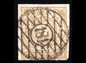 Nachverwendeter Sachsen Nr.Stpl. 181 ROTHENKIRCHEN auf 5 Gr. NDP (Feuser +150 €)