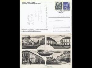 """Ungarn 1944, Erdely sw-AK m. Text """"Zensur Stempel Arbeitsdienst Lager..."""". #1275"""