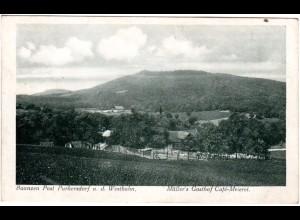 Österreich, Baunzen Post Purkersdorf m. Müller´s Gasthof, 1928 gebr. sw-AK