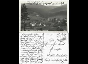 DR Polen, Hain Riesegebirge, sw AK Gasthof Waldmühle m. Nachgebühr Stpl. #646