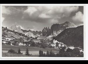 Italien, Tires, Südtirol, Dolomiti, sw Foto AK. #501
