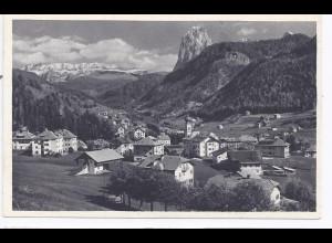 Italien, Ortisei St. Ulrich, Südtirol, sw Foto AK. #144