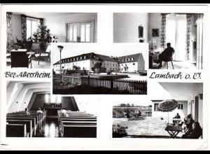Lambach Oberösterreich, Bez. Altersheim, 1964 gebr. sw-AK