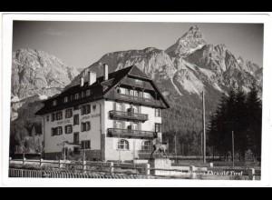 Österreich, Ehrwald, Hotel Maria Regina, gebr. sw-AK