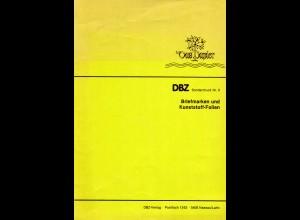 DBZ Sonderdruck zur Problematik Briefmarken u. Kunststoff-Folien, 9 S.