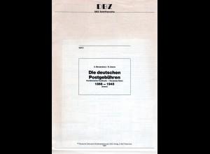Mensendieck, Steven, Die deutschen Postgebühren 1868-1945. NDP-DR