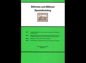 Engel, Böhmen u. Mähren Spezialkatalog, u.a. m. Stempelbewertung, 143 S.