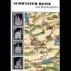 Zürcher/Messerli, Schweizer Reise mit Briefmarken, 72 S.