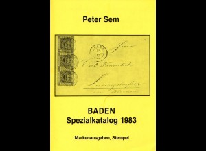 P. Sem, Baden Spezialkatalog, 5. Auflage