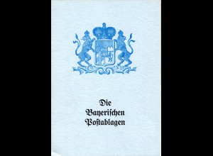 Dr. R. Bader, Die Bayerischen Postablagen, 28 S. m. Punktbewertung u. Abb.