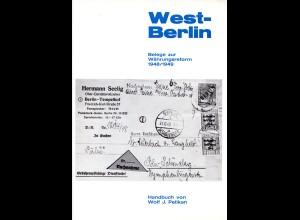 Pelikan, West-Berlin, Belege zur Währungsreform 1948/1949, 56. S. m. Bewertung
