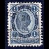 Österreich 1 Gulden m. zentr. Luxus-Stpl. DALLWITZ b. KARLSTADT. Ausnahmestück!