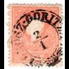 Österreich 5 Kr. Type I (ohne Schleife!) m. Kroatien Zier-Stpl. GROSZ GORITZA