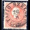 Österreich 5 Kr. Type II m. zentrischem Ungarn Zier-Stpl. TAPIO SZELLE