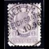 Österreich, WIEN 1/1 REICHSRATH, zentr. K1 auf 1 Gulden