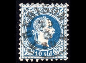 Österreich Post Levante, 10 S. m. Türkei Stempel TREBISONDA