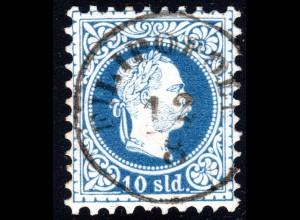 Österreich Post Levante, 10 S. m. Bulgarien Stempel FILIPOPOLI