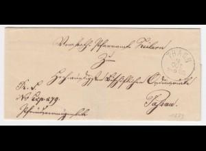 Bayern, K1 THANN klar auf Brief v. Zeilarn n. Passau. #918