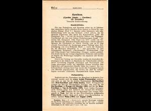 Karolinen, Neues Handbuch lose Seiten 110-128 komplett.
