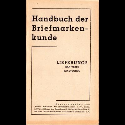 Kap Verde, Neues Handbuch lose Seiten 129-157 (2. Lieferung) komplett.
