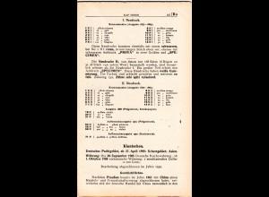 Kiautschou, Neues Handbuch lose Seiten 157-190 (2. Lieferung) komplett.