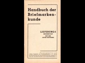 Kirchenstaat, Neues Handbuch lose Seiten 190-263 (3. Lieferung) komplett.