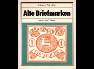 Doberer, K.K., Alte Briefmarken, 196 S. über die Altdeutschland Philatelie