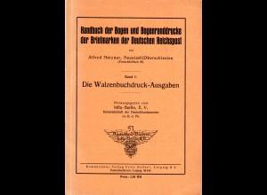 Metzner, Handbuch der Bogen u. Bogenranddrucke d. Briefmarken der Dt. Reichspost