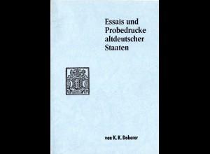 Doberer, K.K., Essais und Probedrucke Altdeutscher Staaten, 104 S. m. Bewertung!