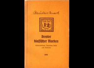 Müller-Mark, Brevier klassischer Marken, Altdeutschland, Dt. Reich und Kolonien