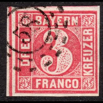 Bayern, oMR 58 BRUCHMÜHLBACH Pfalz klar auf breitrandiger 3 Kr.