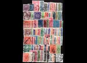 Österreich ca. 1850-1915, Sammlung m. 100 gest. Marken in guter Erhaltung.