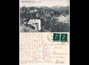 Bayern 1912, Posthilfstelle PRINZ-LUITPOLD-HAUS Taxe Bad Oberdorf auf AK m. 5 Pf