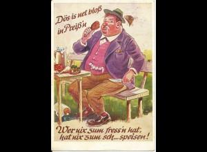 München Oktoberfest 1961, Farb AK m. Gruss aus dem Hackerbräu Festzelt. #2905
