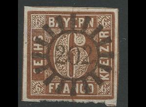 Bayern, MR 202 Marktsteft zentrisch auf allseits breitrandiger 6 Kr. Luxus!