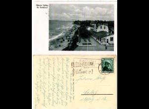 DR 1935, Landpost Stpl. SCHILTZSEE über Kiel auf sw-AK m. 6 Pf.