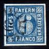 Bayern, MR 29 BABENHAUSEN auf breitrandiger 6 Kr.